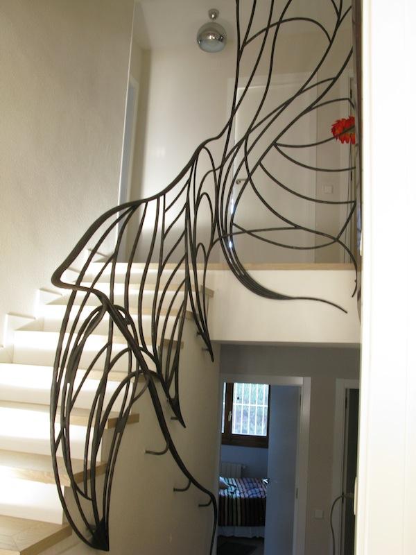 Treppengländer & Handlauf, geschmiedet