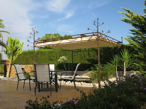 """pérgola de forja """"agave"""", forjacontemporanea - Alicante"""