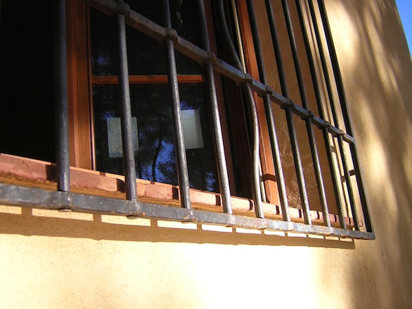 handgeschmiedetes Fenstergitter