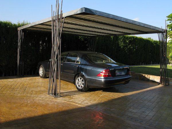 cubierta carport para 2 coches