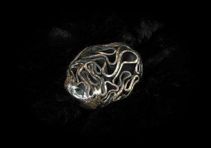 Bronze Türknauf handgeschmiedet
